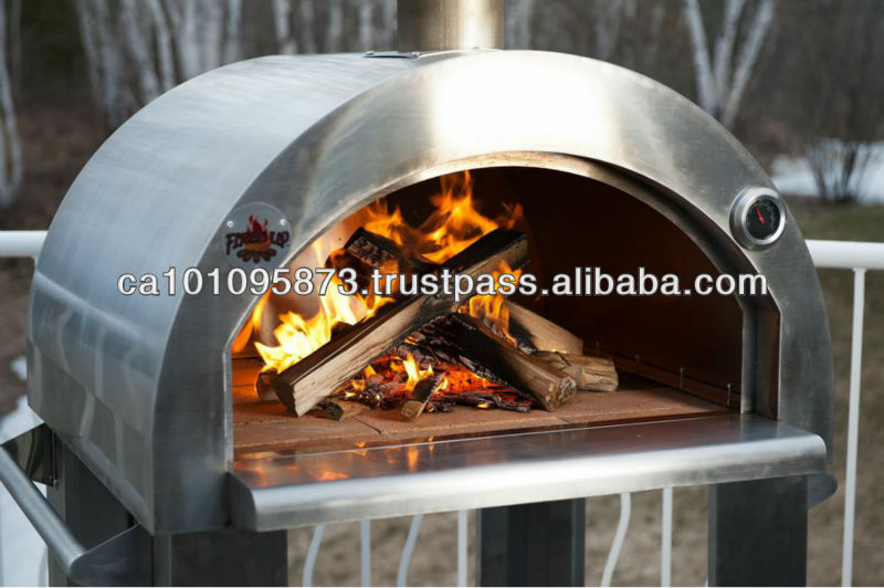Fired-Up Wood Fire pizza oven