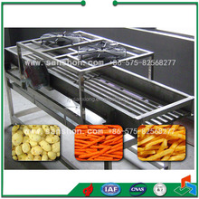 Vibration Dewatering Machine Vegetable and Fruit Vibrator Drain Water Machine