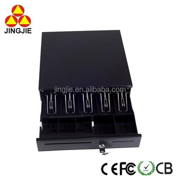 5 Bill Slots and 5 Coin Slots Cash Drawer JJ-405