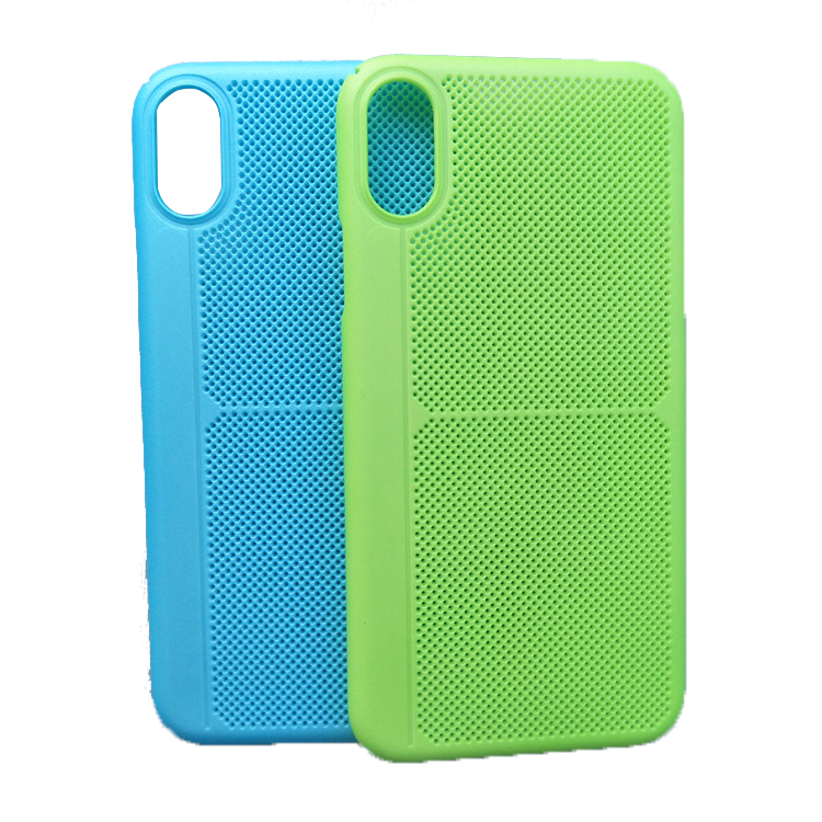 Wholesale China Manufacturer New Phone Case with Heat Dissipation Pinhole for iPhone 8