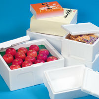 Eco-friendly and lightweight polystyrene foam boxes for food available in many sizes