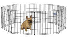 Dog Playpen Crate Fence Pet Kennel Play Pen Exercise Cage