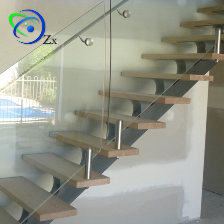 Superieur Easy Diy Install Good Finish Mono Beam Staircase Manufacturer Single  Stringer Modern Carbon Steel Stair