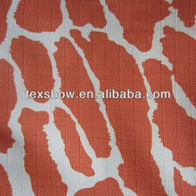 Giraffe skin pattern fashionable printing polyester oxford fabric