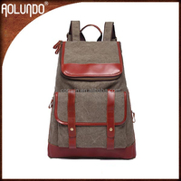 New arrival canvas computer backpacks for school