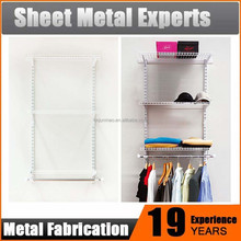 Wardrobe Shelving System Sliding Door Clothes Closet Organizer