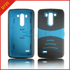 pc and silicone combo case for LG G3 mini, arch stand case for LG G3 mini vigor d725