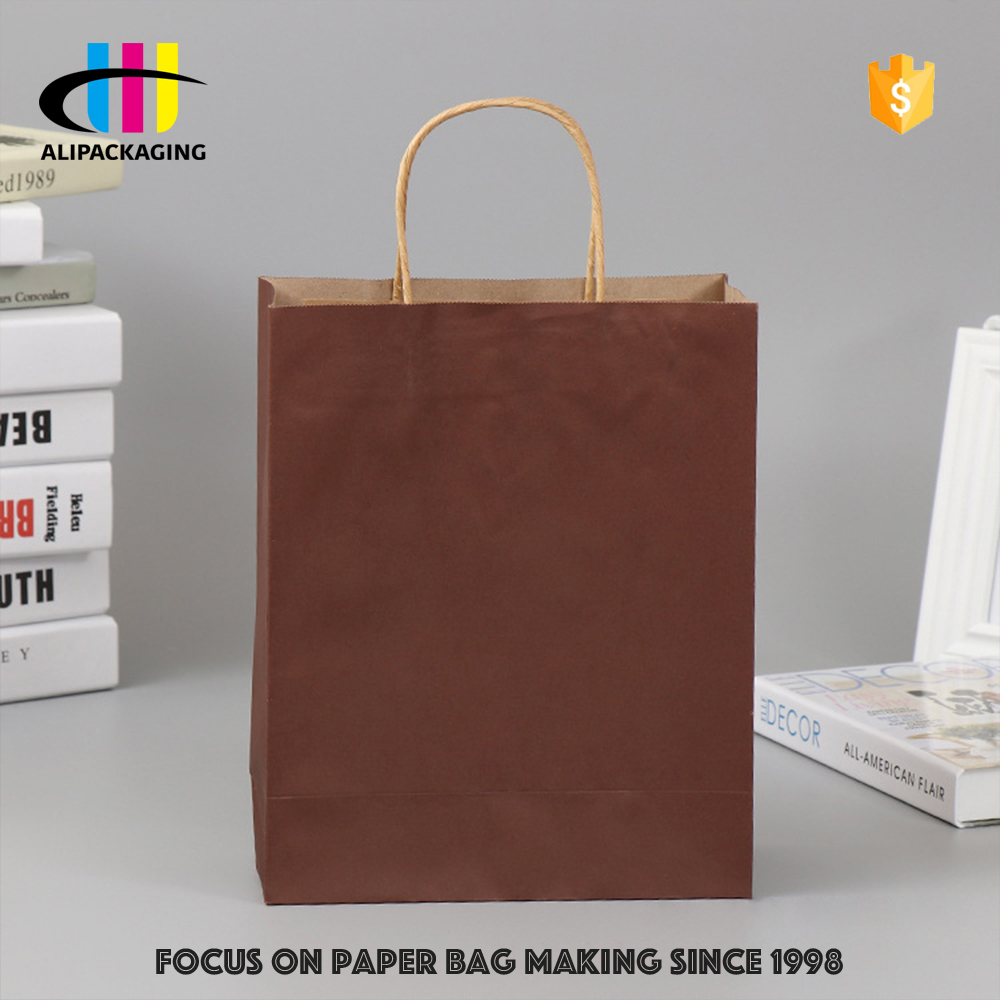 small order accept Custom all kinds size paper shopping bags with your own logo