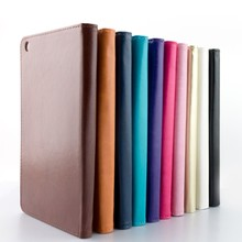 New products 2016 innovative product PU leather tablet protective case outdoor with holder and Handle tablet cases for ipad