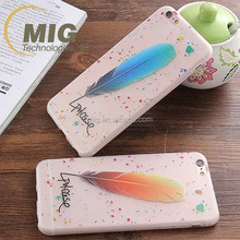 For iphone 6 case glow in the dark mobile phone case, luminous shining for iphone 6s case hot sell alibaba