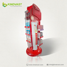 toothpaste cardboard hook display stand
