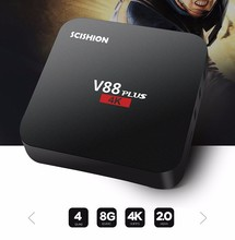 RK3229 V88 PLUS with andriod 5.1 DDRIII 2GB and 8gb kiii dvb smart tv box
