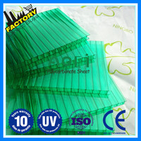 Buy Factory Direct greenhouse roofing material poly carbonate panels