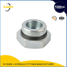 hydraulic adapter metric male o-ring plug
