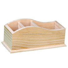 factory price top quality unfinished pine wood wooden box for tea packing