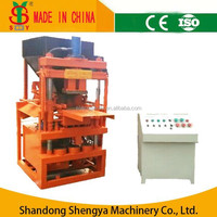 SY1-10 hydraulic eco lite interlocking brick block machine prices