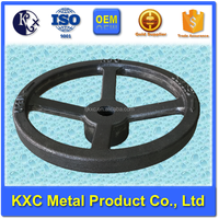 Hand wheel spoked round hole ISO certified for valve