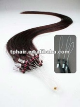 Best Quality 100% Human Hair Micro Ring Loop Hair Extensions,Various Colors