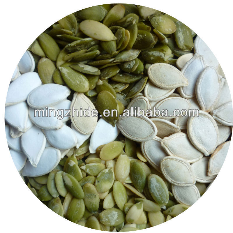 2014 new crop Snow White Pumpkin Seeds, Pumpkin seeds in shell, 11cm, 13cm