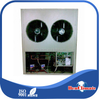 Environment friendly refrigeration condenser unit