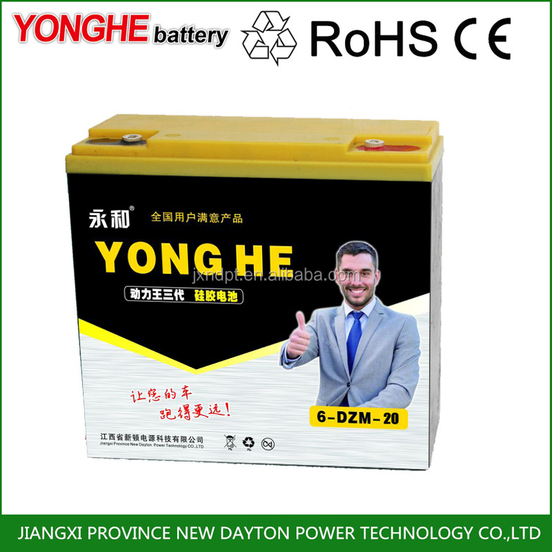 6-dzm-100 dry cell car starting 12v lead acid battery rechargeable batteries
