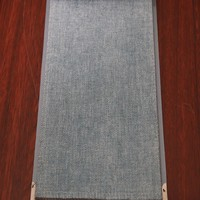 China wholesaler offer woven plain color chenille curtain fabric drapery for wedding