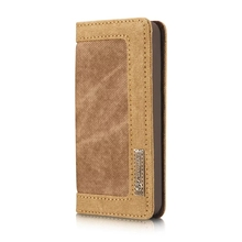 Luxury Leather Cover Flip Wallet Card Slot Stand Display Case for iPhone 5S