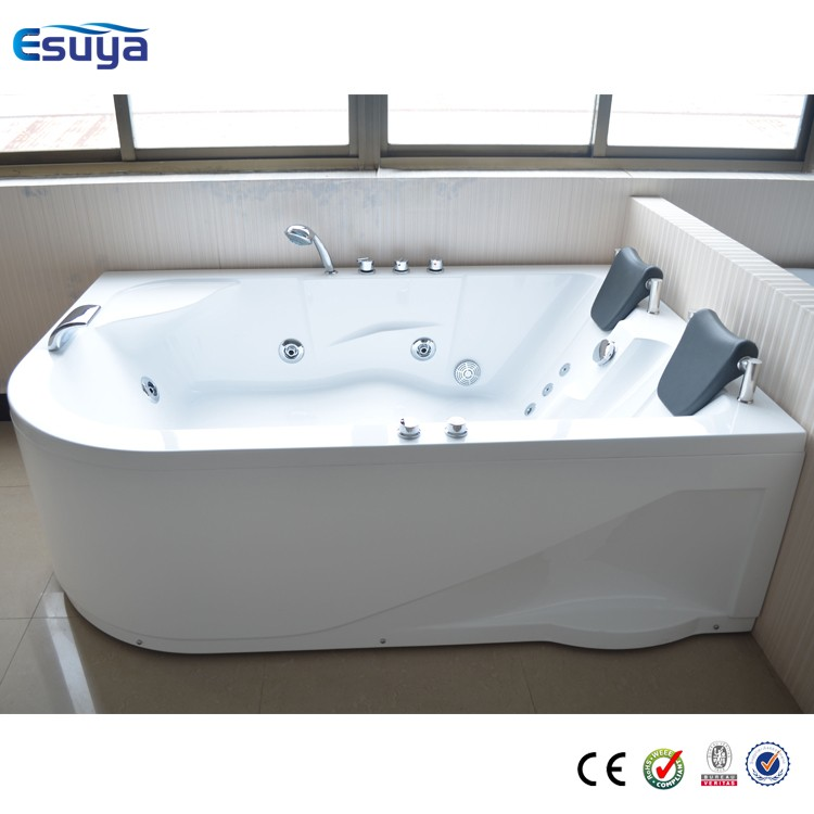 Hydromassage Tub With Multi Function Large Size Double Whirlpool Massage Bath