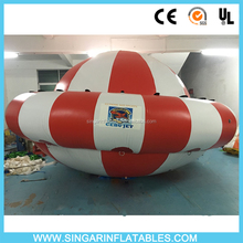 large inflatable water toys /water toy game towable saturn /spinning boat