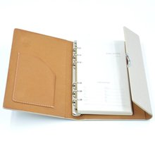 a5 notebook discbound office notebook covers hardcover thermo pu leather journal oem branded