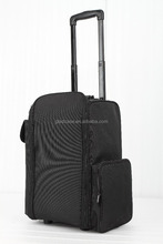 Hot sell professional oxford makeup train case with removable bags