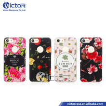 Most popular products 3D flower smart phone accessories phone cover cases for iPhone 7