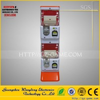 Factory direct price Coin operated new design gashapon plastic capsule toys vending machine Gift in a balloon machine