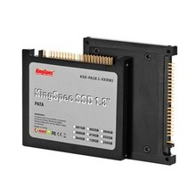 "KingSpec Solid State Drive 1.8"" PATA 128GB 4 Channels MLC SSD Hard Drive R/W: 159/102MB/s for PC Notebook"