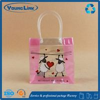 Transparent custom plastic packaging bag for blanket with zipper
