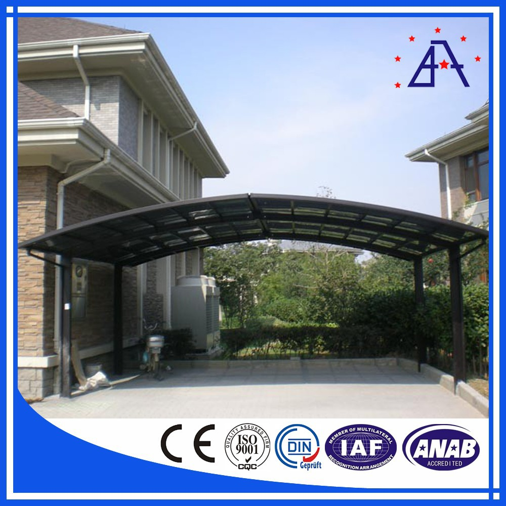 Aluminium Car Shelters : T aluminium profile aluminum car shelter buy