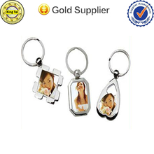 Fashional cheap custom digital photo keychain/keyring/keyholder
