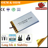 3.7 v 900mah Lipo ion bluetooth lithium polymer battery 603048