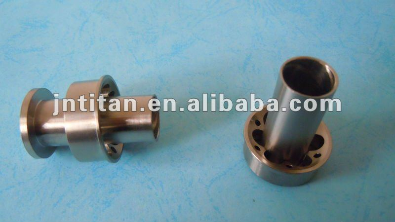 Titanium fishing rod parts