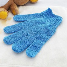 New design shower bath body exfoliating glove