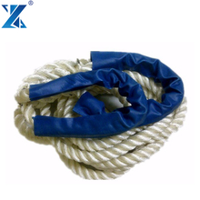 High quality 3 Strand mooring marine rope used boats ships nylon rope 30mm