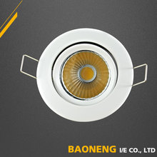 2 Years Warranty IP20 Modern COB Movable LED Ceiling Light Fixture