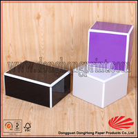 Customized small wooden jewelry box wholesale