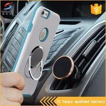 Rotary magnetic car mount holder tpu pc phone case for iphone 5 6 6plus 7 7plus, for samsung s7 s7edge