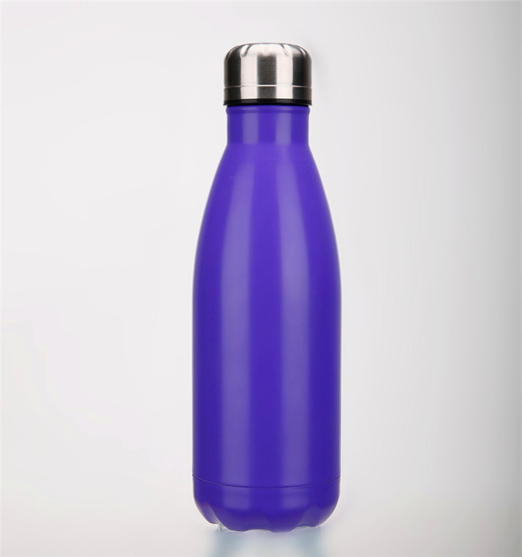 Wholesale 500ml Customized Logo Stainless Steel Vacuum Cup Sport Water Bottle
