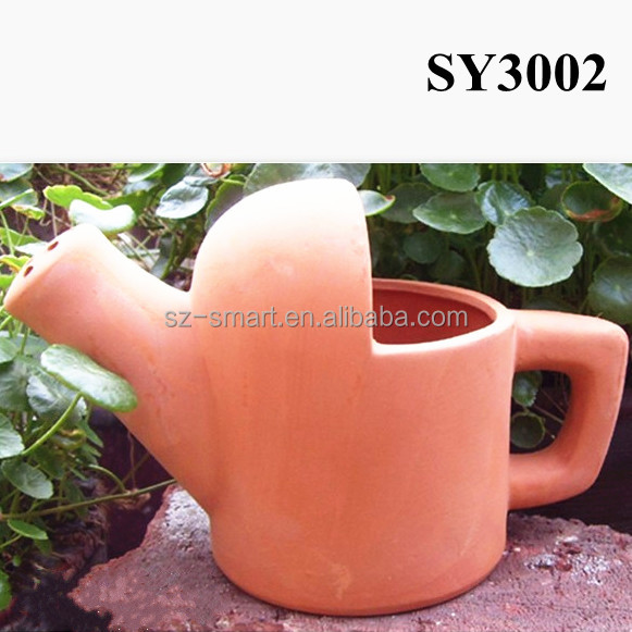 Watering Can Design Decorative Terracotta Pots Wholesale