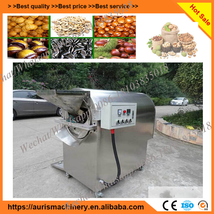 Used cashew roasting machine price/chili roasting machine