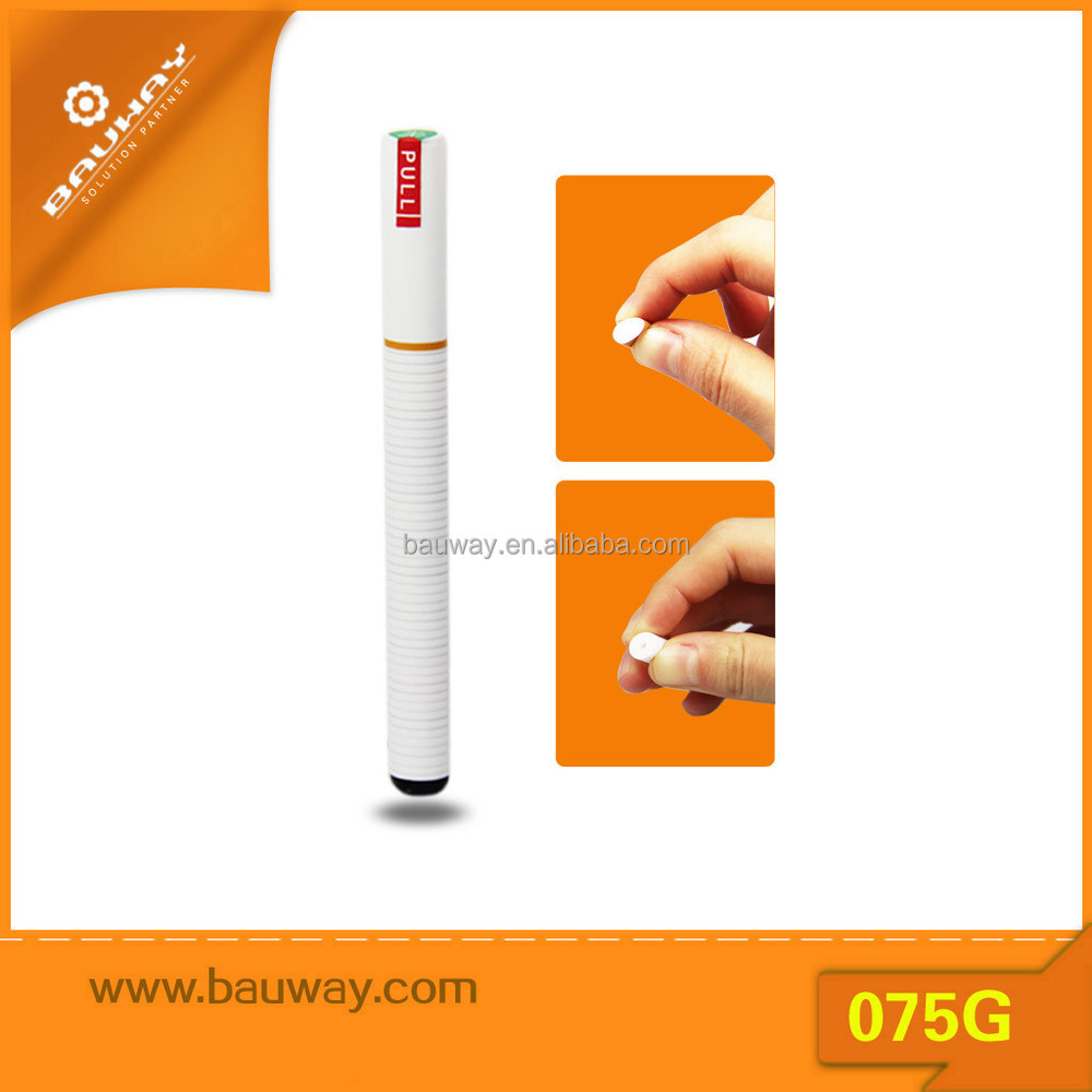 Bauway 075G soft tip e hookah 120 puffs disposable e-cigarette empty