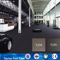 foshan taotao brand names black glazed ceramic wall and floor tile for house