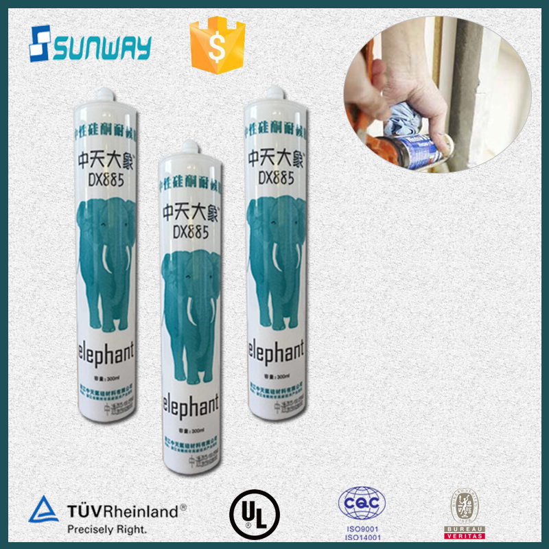 High Quality External Weatherproof Mastic Silicone Sealant